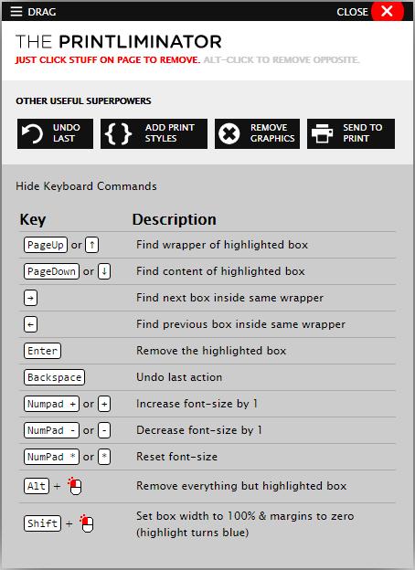 The Printliminator для XOOPS
