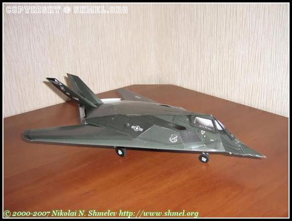 Истребитель F 117 Nighthawk