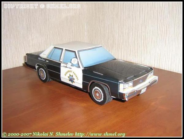 FORD LTD Crown Victoria 1988г